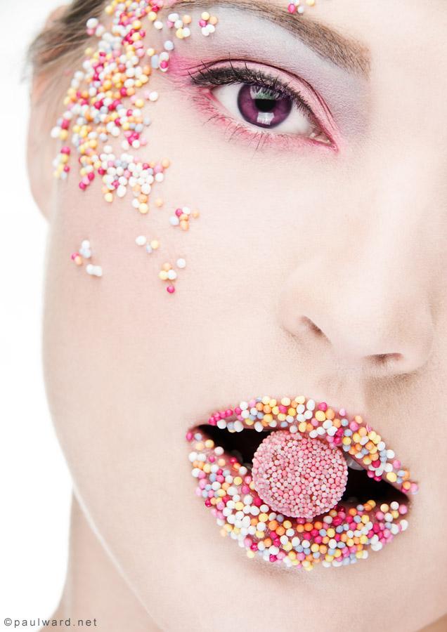 sweets Makeup artist portfolio shoots Birmingham