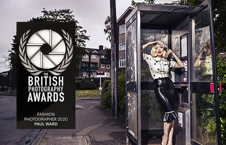 British photography awards fashion catagory image by Birmingham photographer Paul Ward