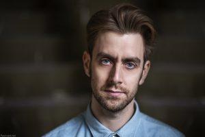 Actors headshots photographer birmingham, Joe Capella by Paul Ward