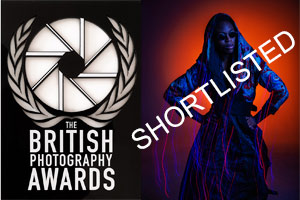 British Photography Awards, shortlisted Fashion photographer birmingham, Model Christina Mcintosh wearing Disorder clothes by Paul Ward