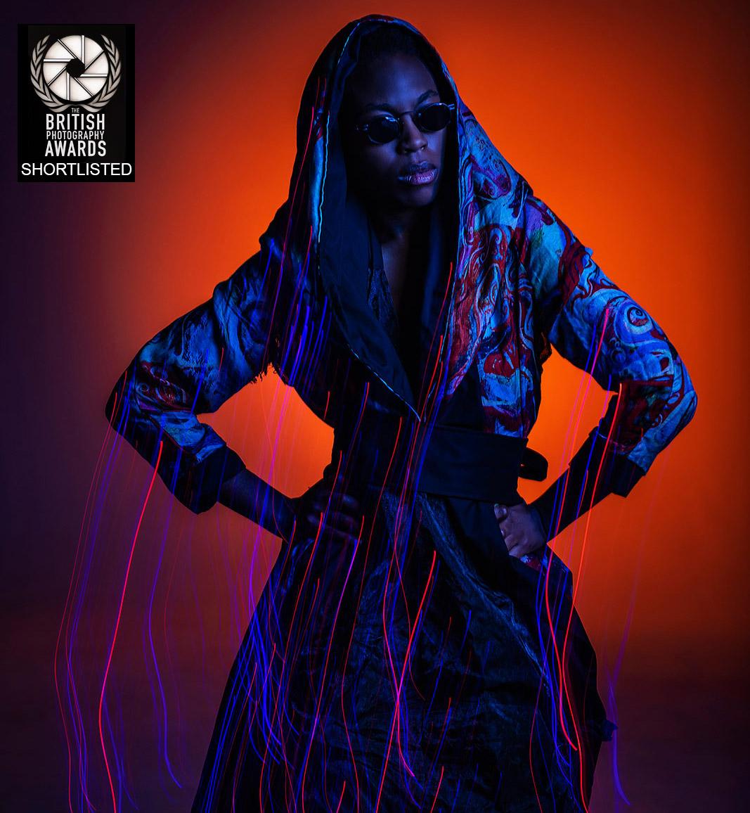 Fashion photographer birmingham, Model Christina Mcintosh wearing Disorder clothes by Paul Ward